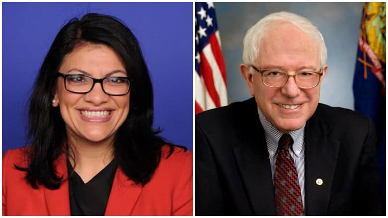 rashida tlaib voted for berni