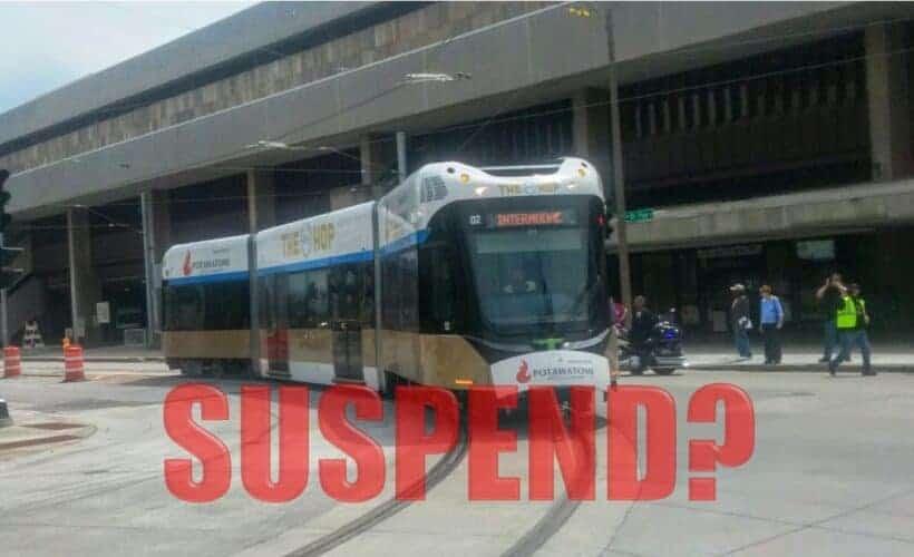Suspend the Hop