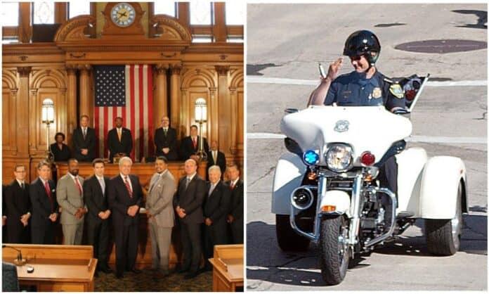 Milwaukee Aldermen cops grant