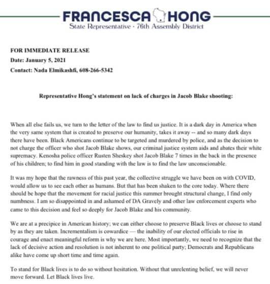 Francesca hong jacob blake