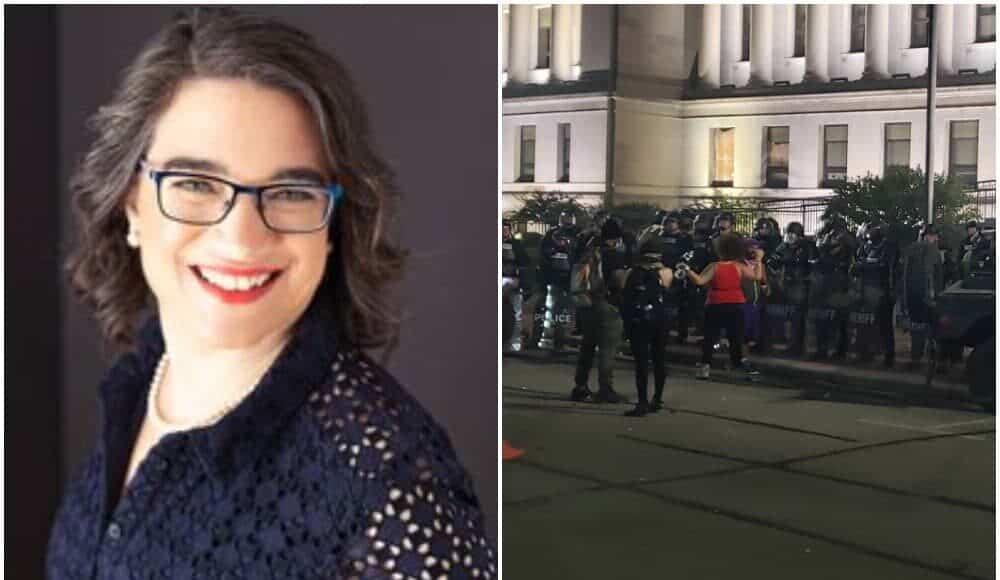 Melissa Sargent rioters