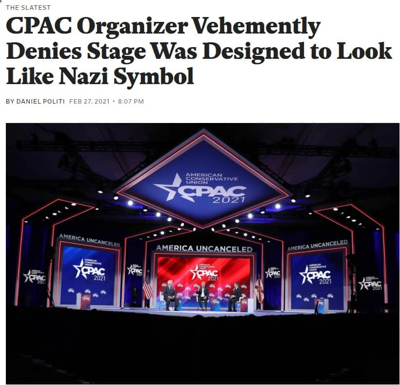 Mainstream media cpac