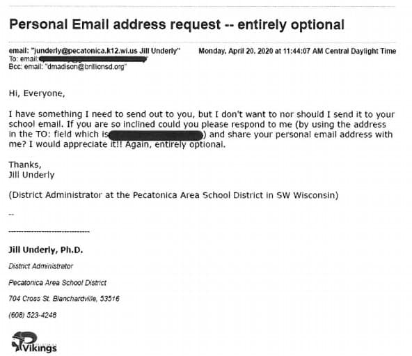 Jill underly emails