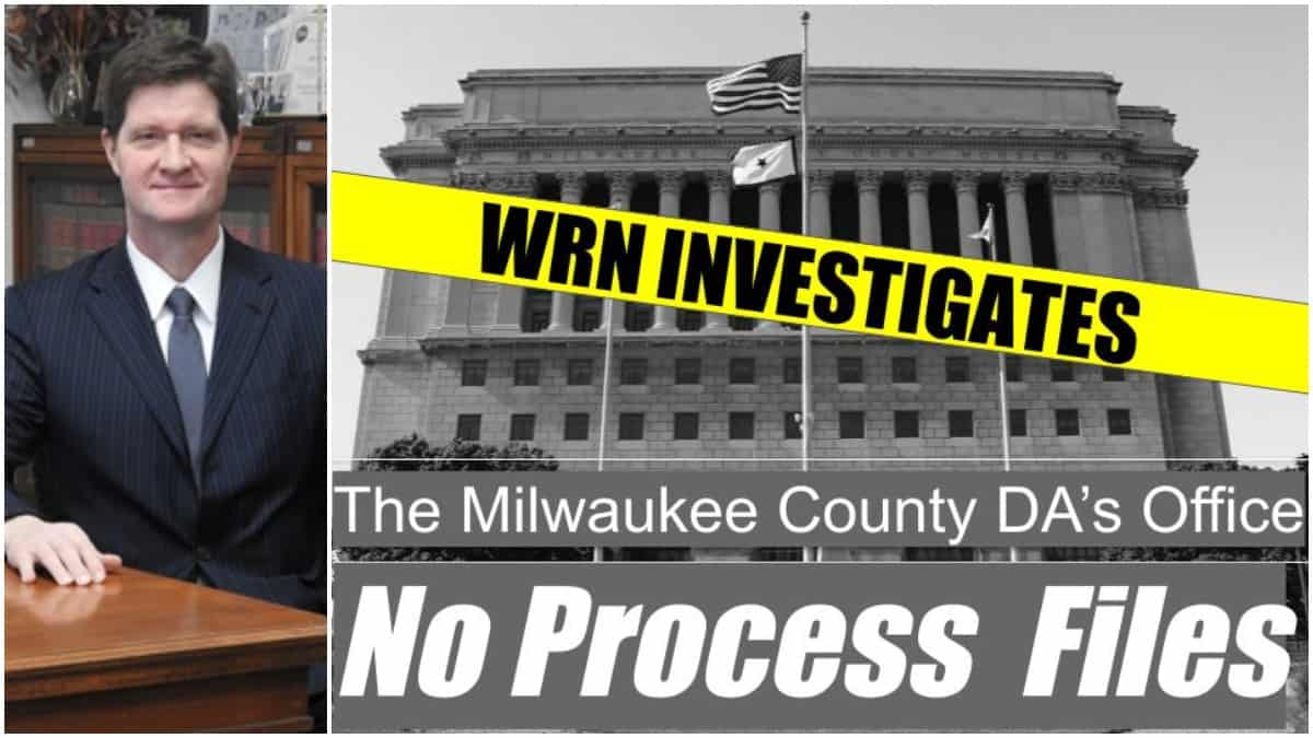 Milwaukee County DA John Chisholm refused