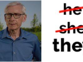 gov tony evers pronouns