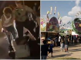 dane county fair fights