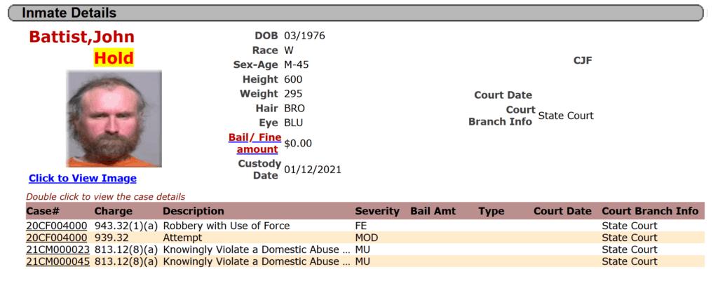 milwaukee county sheriff inmate