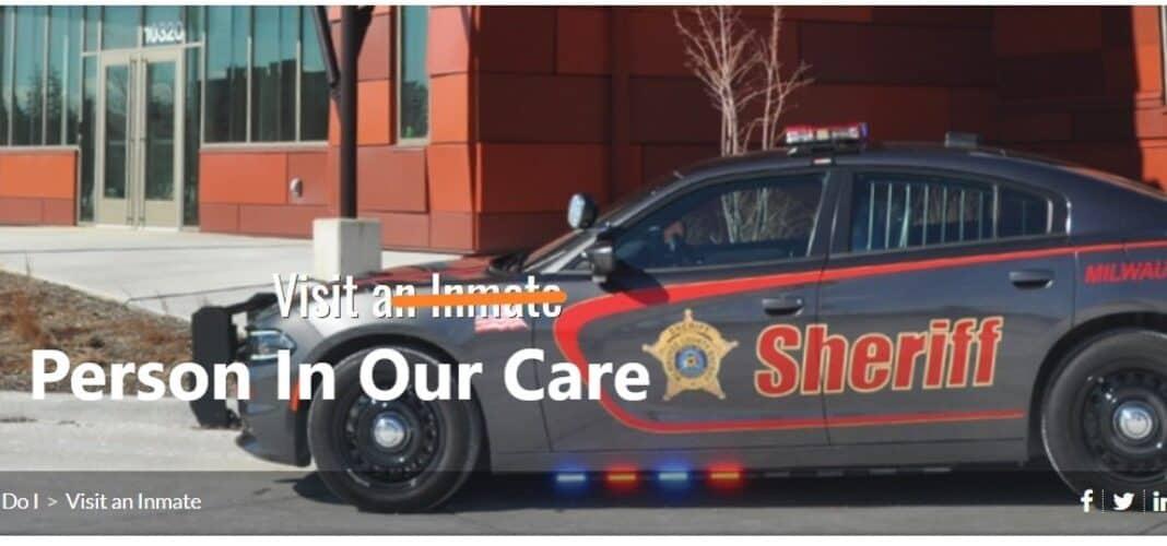 Milwaukee county sheriff inmates