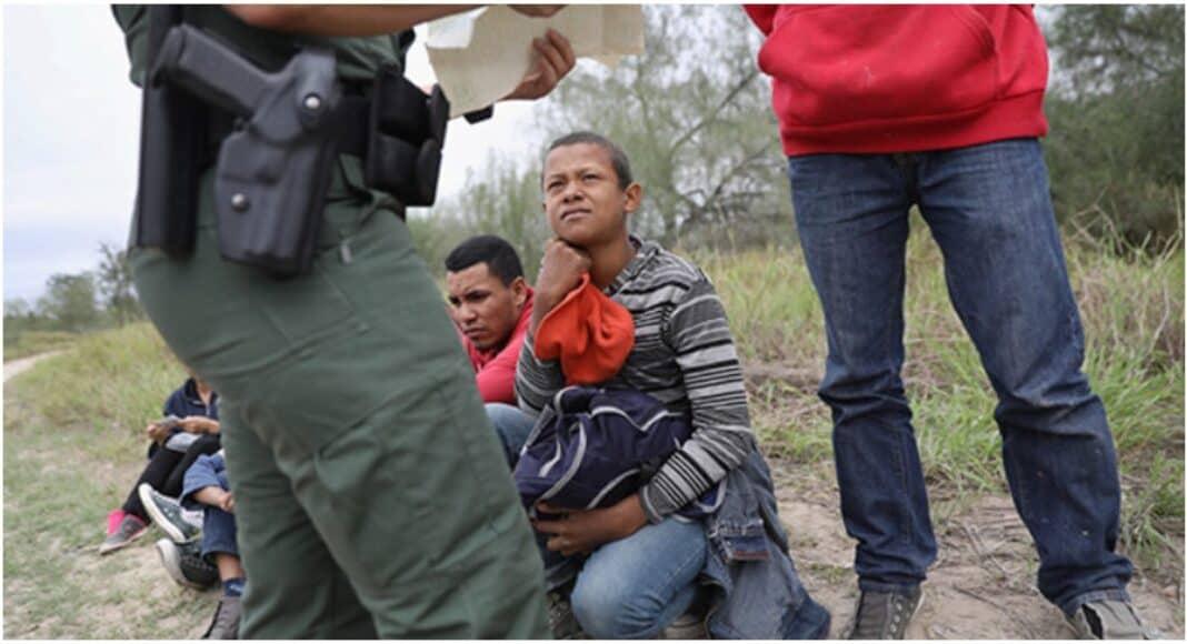 Southern border arrests