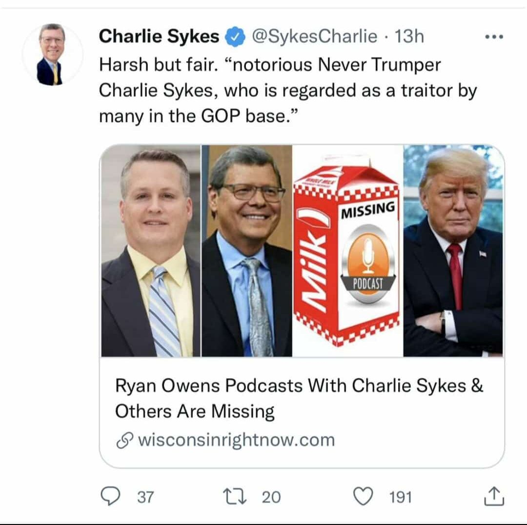 charlie sykes podcast