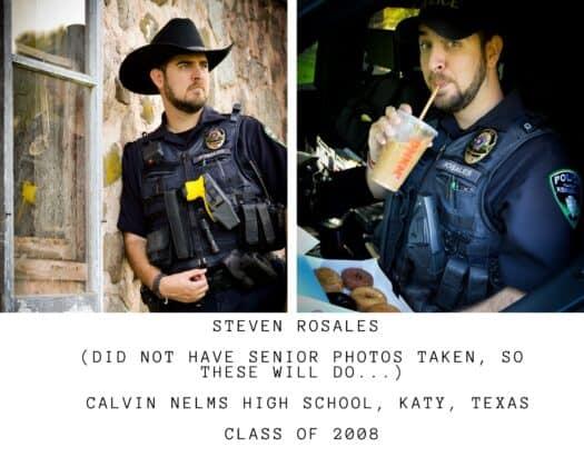 Kewaskum police senior class pictures