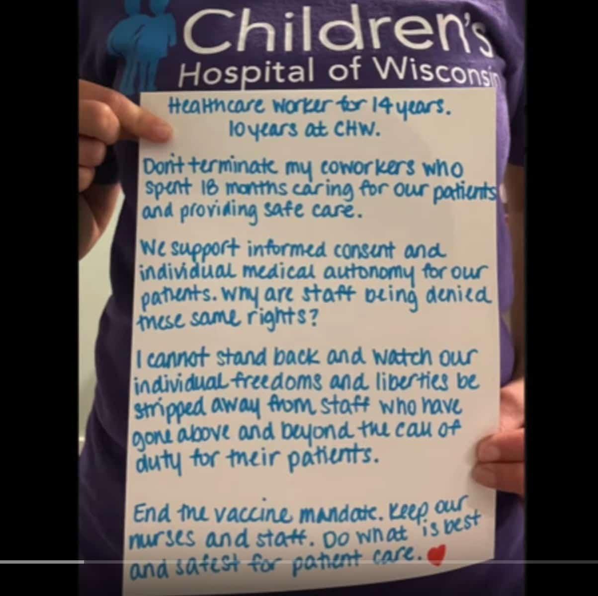 children's wisconsin vaccine mandate